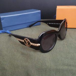 NEW LOUIS VUITTON PARIS TEXAS SUNGLASSES BLACK
